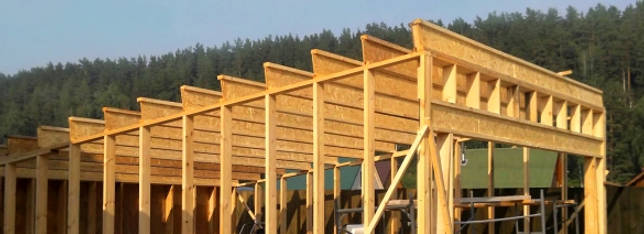 Деревянные перекрытия в доме из газобетона своими руками