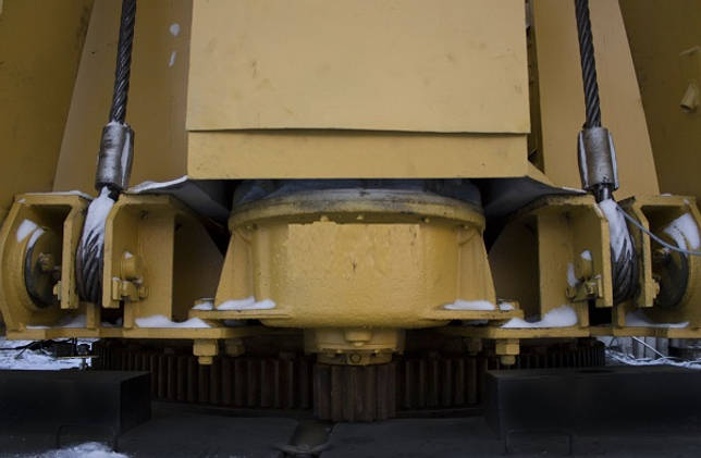 электродвижок крана РДК с фазовым ротором
